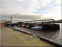 NZ3668 : The Fish Quay, North Shields by Robert Graham