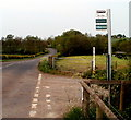 SO4710 : Red House Farm bus stop near Dingestow by Jaggery