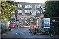 SU7472 : Demolition of Bridges Hall, University of Reading by Simon Mortimer