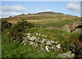 SN1431 : Stone & Earth embankment by Matthew Hatton