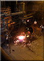 SJ6903 : Blists Hill Victorian Town - fireworks! by Chris Allen
