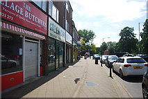 TQ0487 : Shops, Denham Green by N Chadwick