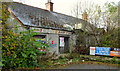 J2465 : Derelict shop and houses, Lisburn by Albert Bridge