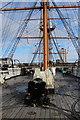 SU6200 : HMS Warrior, Portsmouth, Hampshire by Christine Matthews