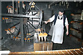 SJ6903 : Blists Hill Victorian Town - candle making by Chris Allen