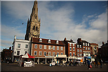 SK7953 : Market Place by Richard Croft