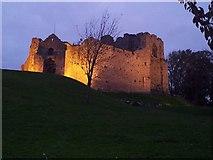 SS6188 : Oystermouth Castle by Rob Farrow