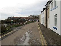 NU2520 : Dunstanburgh Road, Craster by Chris Heaton