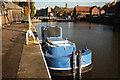 SK7953 : British Waterways wharf by Richard Croft