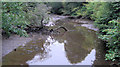 SW7125 : Gear Creek seen from Gear Bridge by Stuart Logan