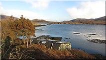 NF7828 : Boat house, Loch Aineort by Richard Webb