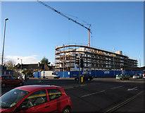 TL4658 : Construction in progress by Hugh Venables
