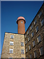 SD4861 : The water tower, Moor Lane Mill South, Lancaster by Karl and Ali