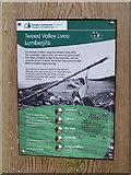 NT2840 : 'Lumberjills' sign by Jim Barton