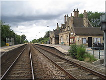 SK8975 : Saxilby railway station, Lincolnshire by Nigel Thompson