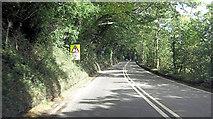 SW7838 : A39 southeast of Church Town by Stuart Logan