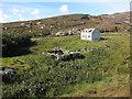 NF7003 : Abandoned house, Barra by Hugh Venables