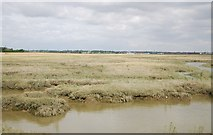 TQ9293 : Paglesham Creek by N Chadwick
