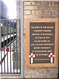 TQ2878 : London Victoria station: memorial to the Unknown Warrior by Christopher Hilton