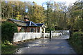 SJ6903 : Blists Hill Victorian Town - toll house by Chris Allen