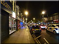 NZ4919 : Linthorpe Road at night by Graham Hogg