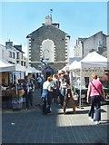 NY2623 : Keswick Hall and Market by Gordon Griffiths