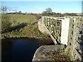 NU0527 : 'Weak Bridge' over the River Till by Russel Wills