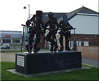NZ4349 : The Brothers Mining Memorial, Seaham by JThomas