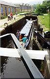 SD9926 : Mayroyd Lock 8 Rochdale Canal by Jo Turner