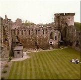 NS6859 : Bothwell Castle - Great Hall by Elliott Simpson