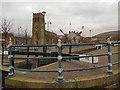 SJ9698 : Huddersfield Narrow Canal, Lock 6, Stalybridge by David Dixon