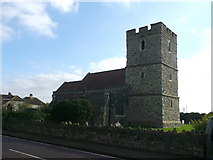 TQ5380 : Church of St Mary and St Peter, Wennington by David Anstiss