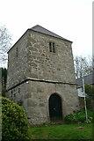 SW7340 : St Weneppa's church, Gwennap by Dave Kelly