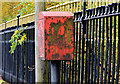 J3573 : Drop box, Belfast by Albert Bridge