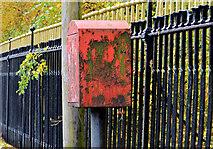 J3573 : Drop box, Belfast by Albert Bridge