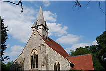 SU3940 : St Peter & Holy Cross Church, Wherwell (3) by Barry Shimmon