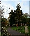 TQ3158 : St.John the Evangelist, Old Coulsdon, Surrey by Peter Trimming