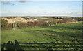 SK2701 : Field above Sandyways cutting, Hoo Hill by Robin Stott