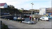 NF8855 : Kallin Harbour by Richard Webb