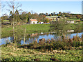 SE7365 : River Derwent flowing through Kirkham by Pauline E