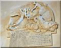 TR0420 : Memorial to Ann Russell, All Saints' church, Lydd by Julian P Guffogg