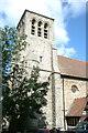 TQ6786 : St Mary the Virgin & All Saints church, Langdon Hills by Dave Kelly