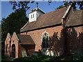SJ6105 : St Mary's church, Leighton by Dave Kelly