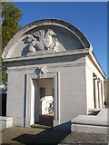 TQ7668 : Northern Pavilion, Chatham Naval Memorial by David Anstiss