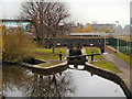 SJ8698 : Ashton Canal, Bradford Lock by David Dixon