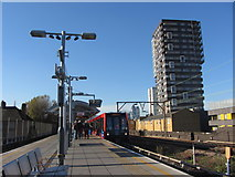 TQ3580 : Shadwell DLR station by Gareth James