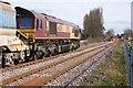 TF4958 : Class 66, Wainfleet by Dave Hitchborne