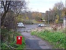 NZ1647 : Carpark on Newbiggin Lane, Lanchester by Oliver Dixon