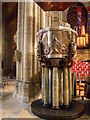 SE3171 : Ripon  Cathedral  the  Pulpit by Martin Dawes
