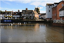 SO8832 : The Calendar view of Tewkesbury by Philip Halling
